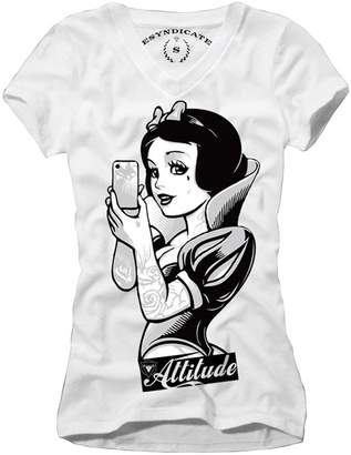 Obey E1syndicate Woman T-Shirt Snow Selfie Attitude Blogger Rockabilly S-L
