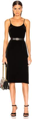 Enza Costa Silk Velvet Slip Dress