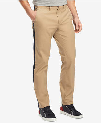 Tommy Hilfiger Men's Side Stripe Chino Pants, Created for Macy's