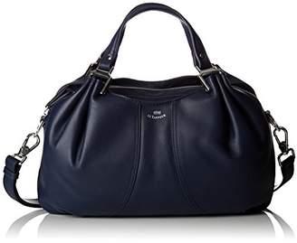 Le Tanneur Alice, Women's Handbag, Bleu (Crépuscule), 7x23x35 cm (W x H L)