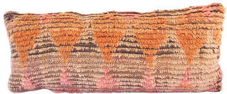 One Kings Lane Vintage Saffron Moroccan Pillow - Habibi Imports