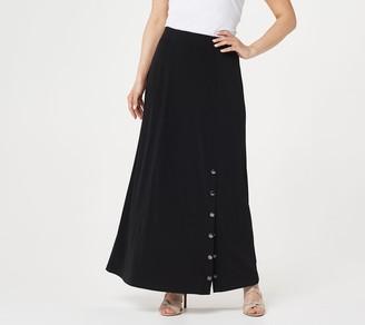 Every Day by Susan Graver Regular Liquid Knit Maxi Skirt