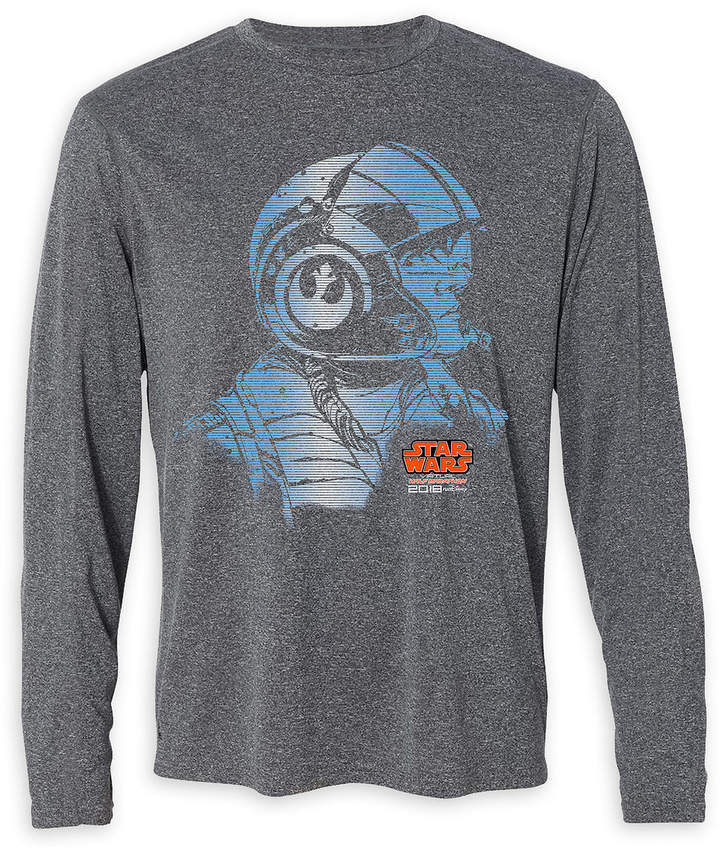 Star Wars Virtual Run Long Sleeve T-Shirt for Adults - runDisney 2018 - Limited Release