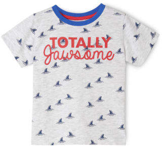 Sprout NEW Boys Essential T/Shirt Grey Marle