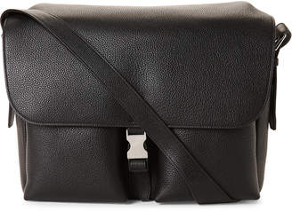 Mulberry Black Leather Welbeck Messenger Bag