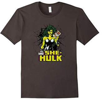 Marvel She-Hulk Vintage Comic Graphic T-Shirt