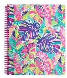 Lilly Pulitzer Exotic Garden Large Notebook