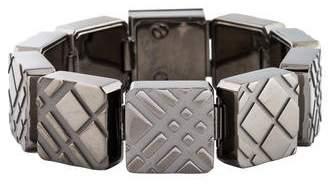 Burberry Textured Link Bracelet
