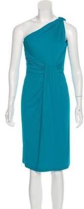 Michael Kors One-Shoulder Midi Dress