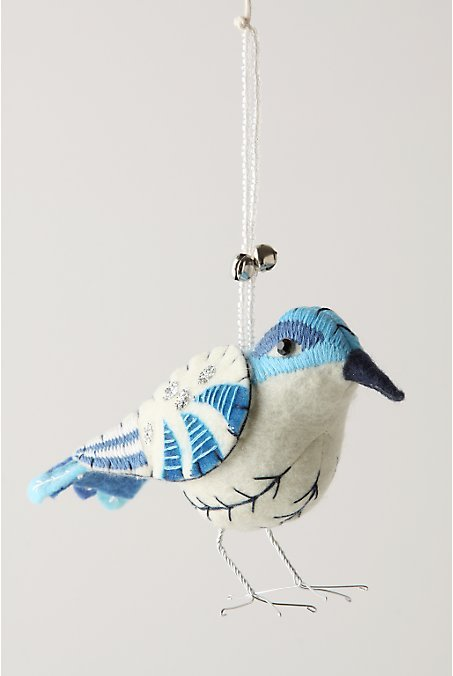 Branch-To-Bough Ornament, Bluebird
