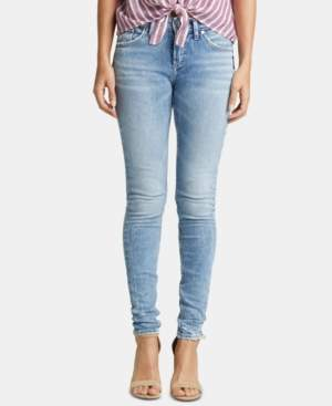 Silver Jeans Co. Avery Curvy-Fit Skinny Jeans