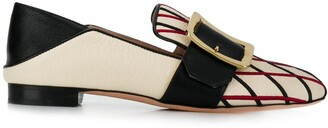 Bally embroidered loafers