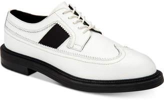 Calvin Klein Men Carper Grain Leather Wingtip Oxfords Men Shoes