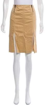 Armani Exchange Knee-Length Woven Skirt