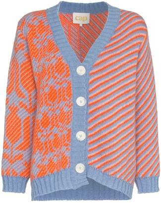 Cap Georgia knitted mohair cardigan