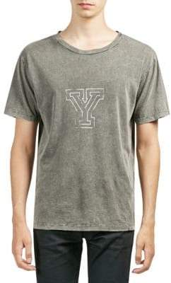 Saint Laurent University Y Cotton Tee