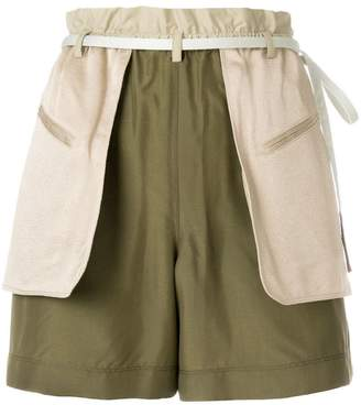 Valentino layered shorts
