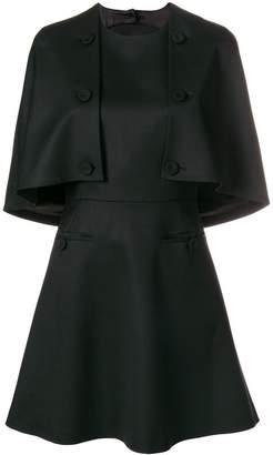 Sara Battaglia buttoned short dress