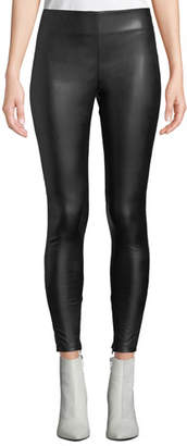 Velvet Berdine Faux-Leather Leggings