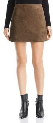 French Connection Suedette A-Line Mini Skirt - 100% Exclusive