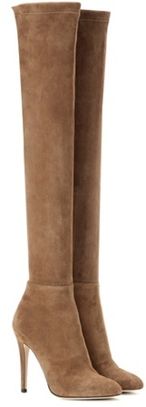 Jimmy Choo Jimmy Choo Turner 110 Suede Over-the-knee Boots