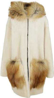 Inès & Marèchal Bonbon Furred Coat