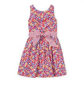 Polo Ralph Lauren Floral Fit-And-Flare Dress (5-7 Years)