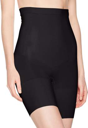 Spanx Oncore High-Waisted Mid-Thigh Shorts, Very , XLarge