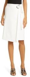 Tibi Wrap Front Skirt