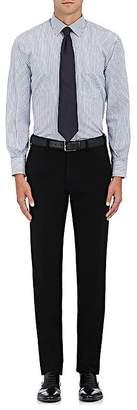 Barneys New York MEN'S DOUBLE-STRIPED COTTON DRESS SHIRT