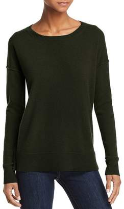 Aqua High/Low Cashmere Sweater - 100% Exclusive