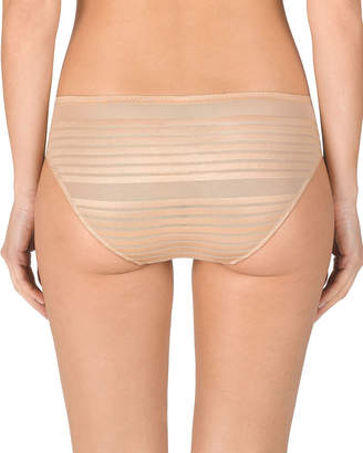Natori Precision Striped Mesh Briefs