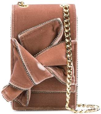 No.21 fold over mini crossbody bag
