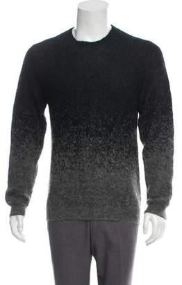 Neil Barrett Mohair & Wool-Blend Crew Neck Sweater