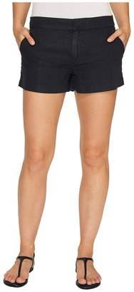 Michael Stars Linen Classic Shorts Women's Shorts