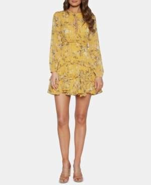 Bardot Tiered-Hem Fit & Flare Dress