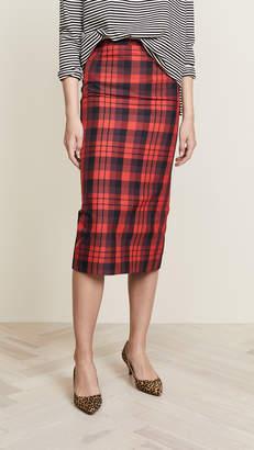 No.21 No. 21 Plaid Skirt