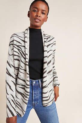 Brochu Walker Zebra Cashmere Cardigan