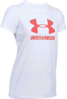 Under Armour Womens Sportstyle Crew Tee