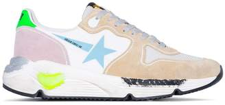 Golden Goose Running sole suede leather sneakers