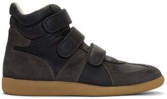 Maison Margiela Black Triple Velcro Sneakers
