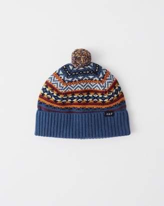 Abercrombie & Fitch Cozy Knit Pom Beanie