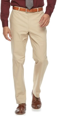 Apt. 9 Men's Slim-Fit Tan Stretch Flat-Front Suit Pants
