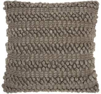 Scandinavian Mina Victory Woven Stripes Throw Pillow
