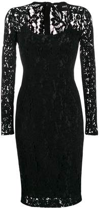 Paule Ka lace detail dress
