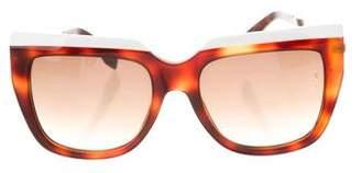 Fendi Tortoiseshell Gradient Sunglasses