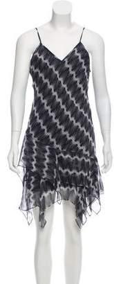 Thomas Wylde Silk Sleeveless Dress
