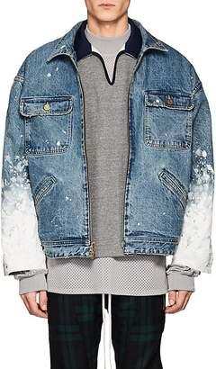 Fear Of God Men's Paint-Splattered Denim Jacket