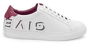 Givenchy Women's Urban Street Lace-Up Leather Sneakers
