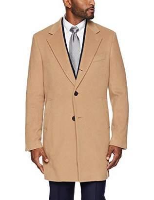 Buttoned Down Men's Italian Wool Cashmere Overcoat